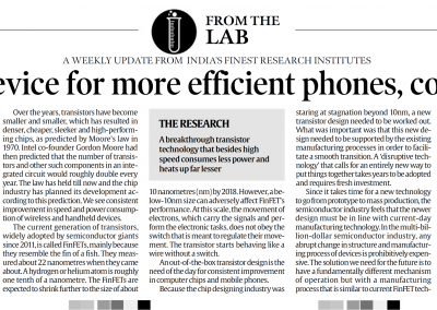FinTEFT For Efficient Mobile Systems - Indian Express